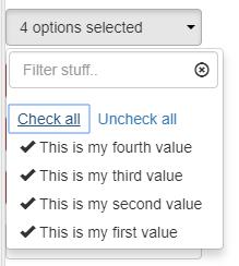 Angular Multi Select Dropdown